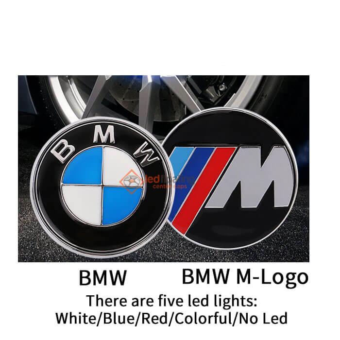 logo types BMW Floating Center Caps 56mm 65mm