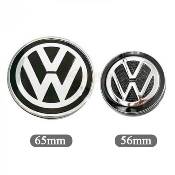 Volkswagen Led Floating Center Caps 56mm 65mm