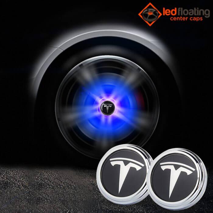 Tesla Floating Center Caps