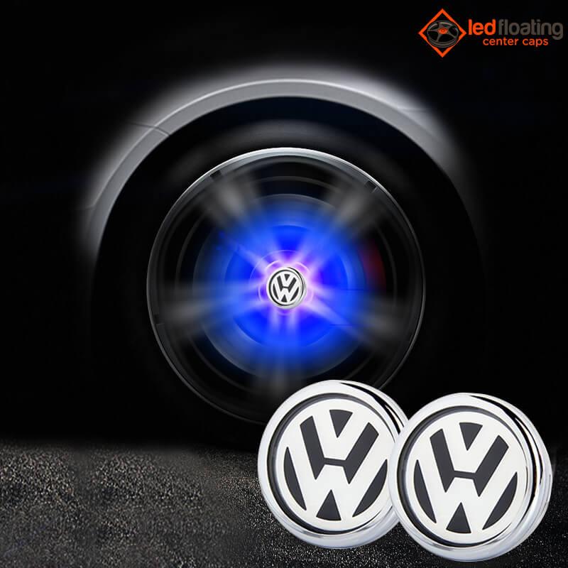 Volkswagen Led Floating Center Caps