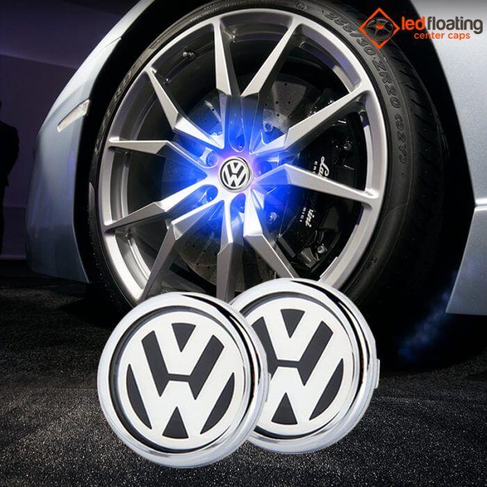 VW Floating Center Caps