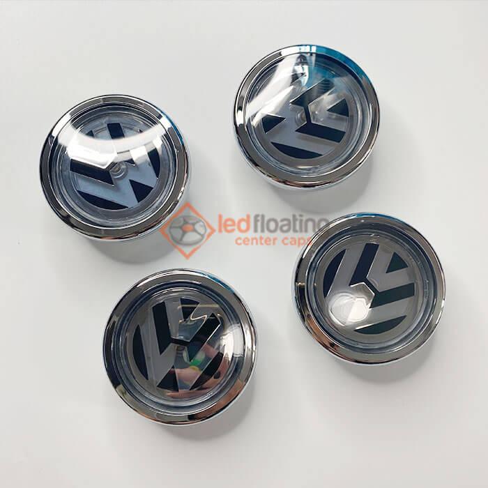VW Floating Center Caps 70mm