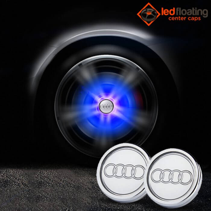 Audi Floating Center Caps