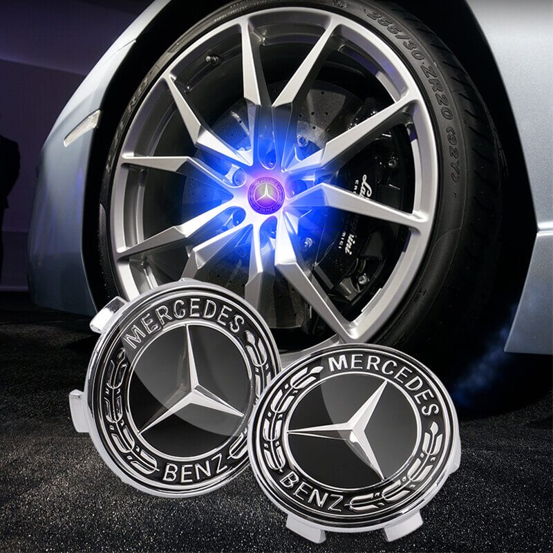 Mercedes Benz Floating Center Caps