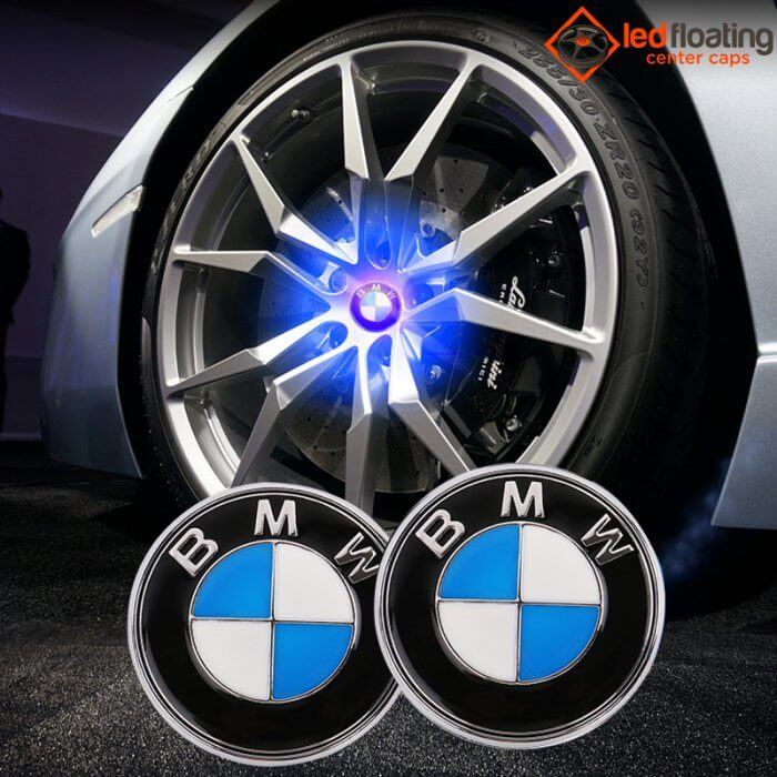 BMW Floating Center Caps 68mm