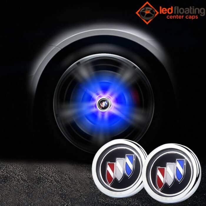 Buick Floating Center Caps 62mm