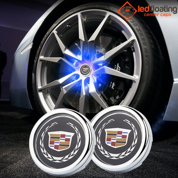 Cadillac Floating Center Caps