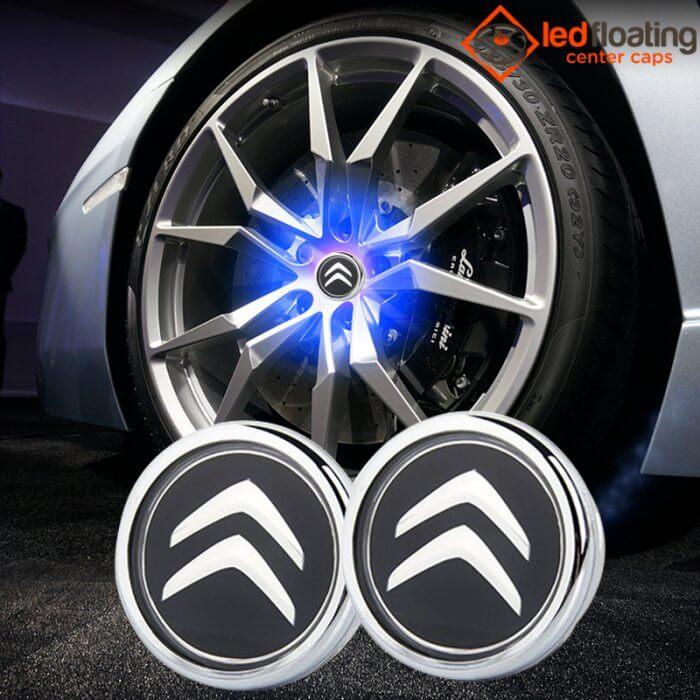 Citroen Floating Wheel Caps