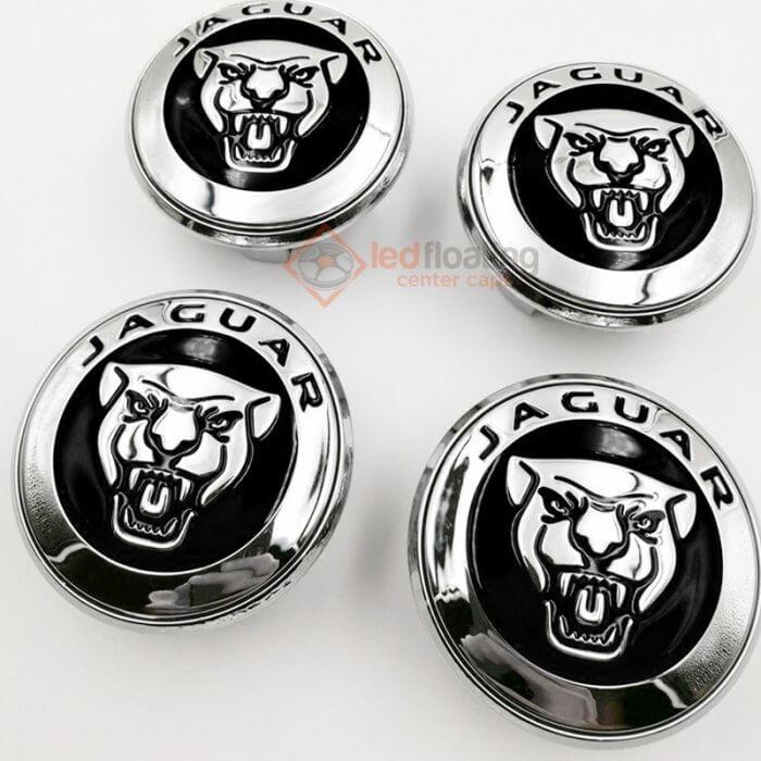 Jaguar Floating Wheel Caps 59mm