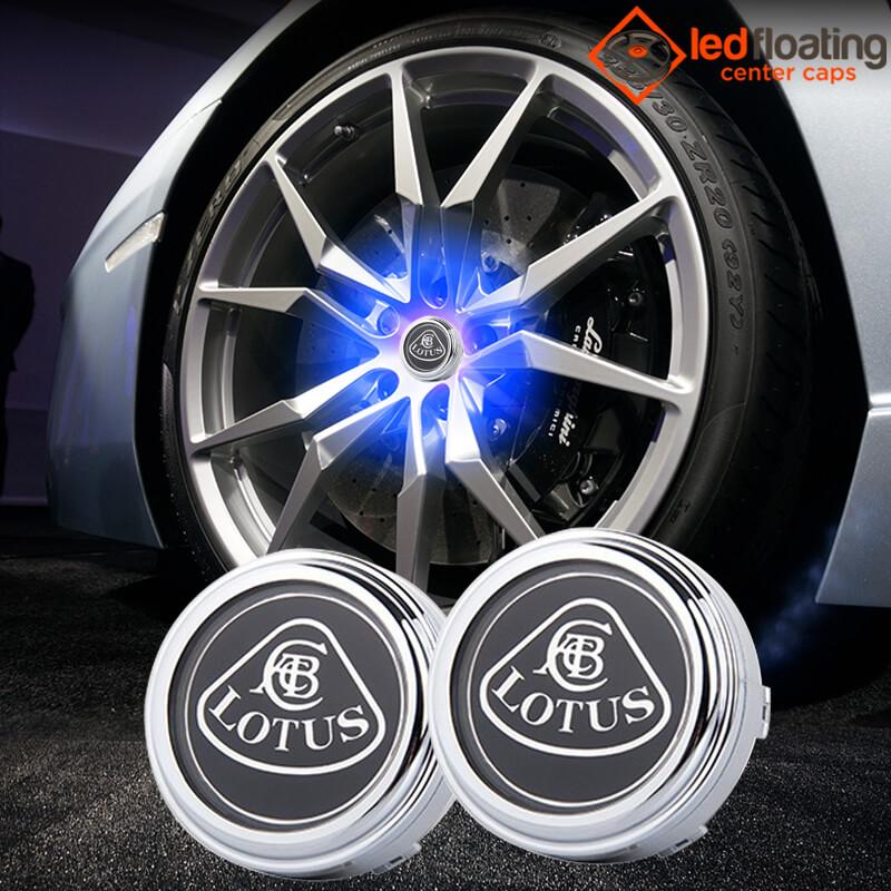 Lotus Floating Wheel Caps 58mm