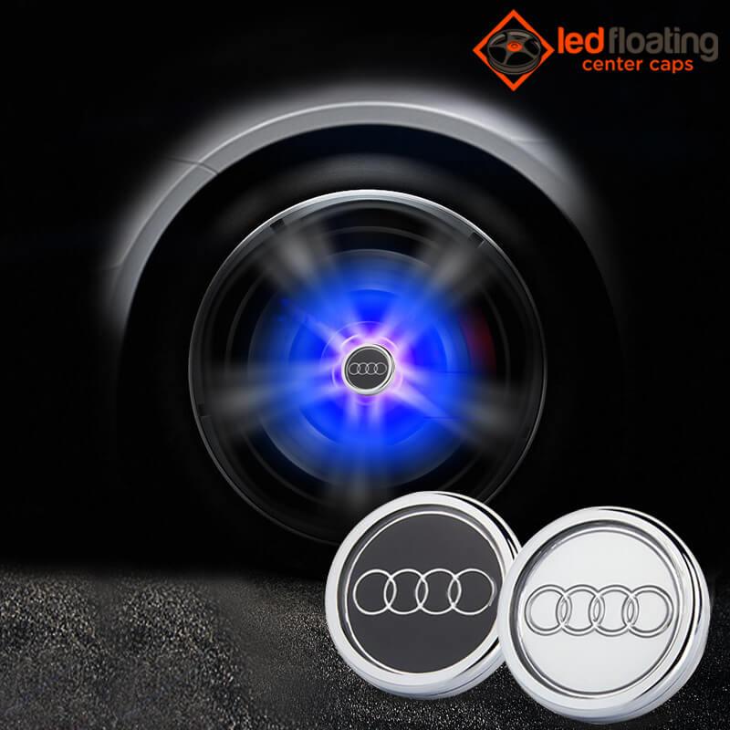 Audi Floating Center Caps 60mm 68mm