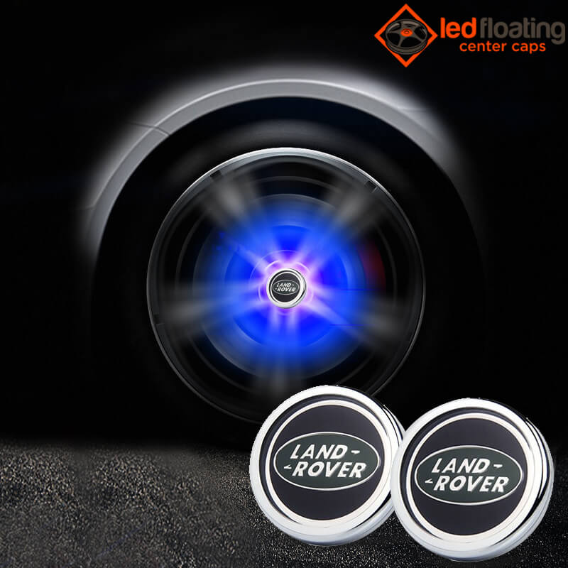Land Rover Floating Center Caps 66mm