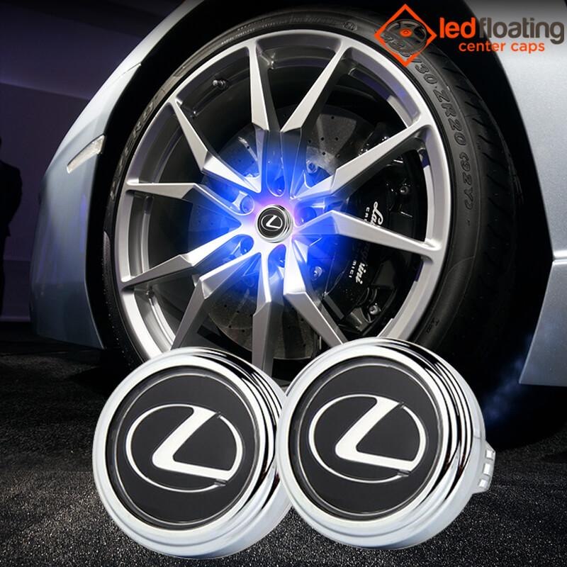 Lexus Floating Center Caps