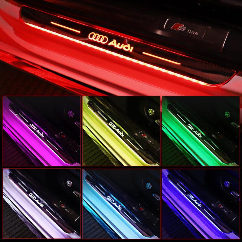 Acrylic Moving LED Door Sill
