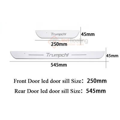 0127222 Honda LED Door Sill
