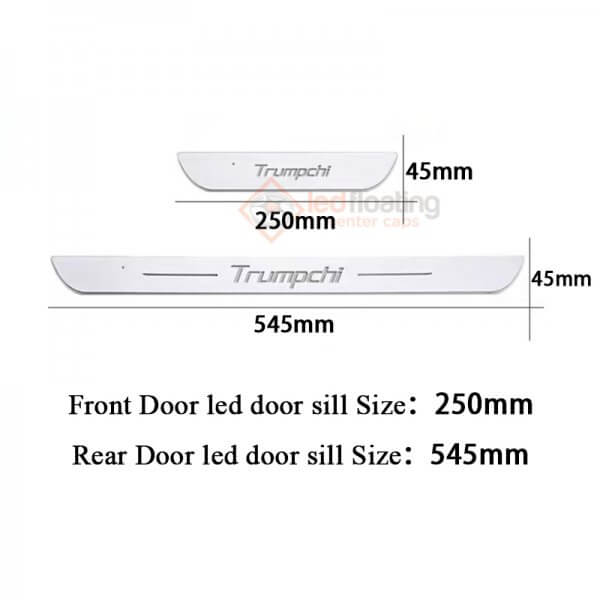 0127222 Acrylic Moving LED Door Sill