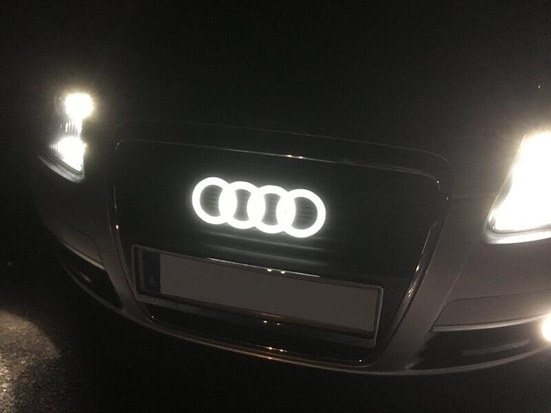 Dynamic Audi Emblem Suitable for A6L A3 Q2 Q3 Q5