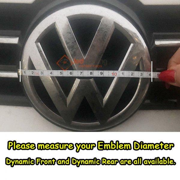 VW DIAMETER How to Choose Volkswagen VW Light Up Emblem