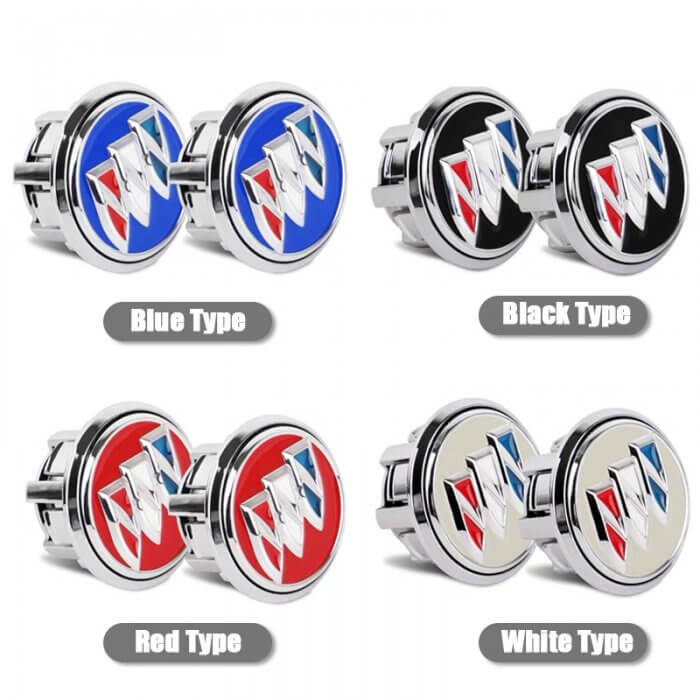 four colors Buick Floating Center Caps 59mm
