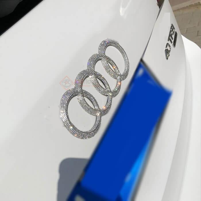 Shiny Audi Emblem