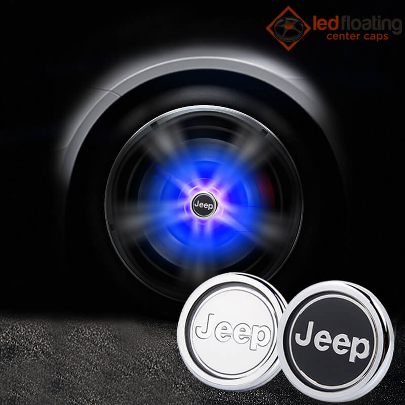 Jeep Floating Center Caps 63mm