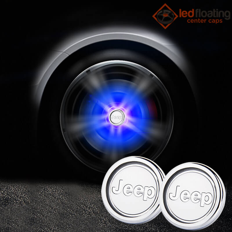 Jeep Floating Center Caps 60mm