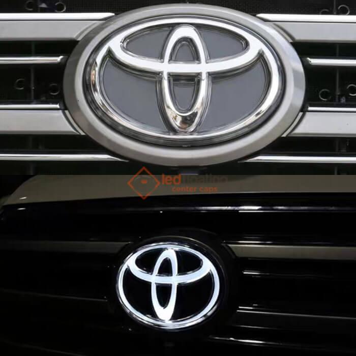 Light up Toyoto Emblem | Dynamic Toyato Emblem