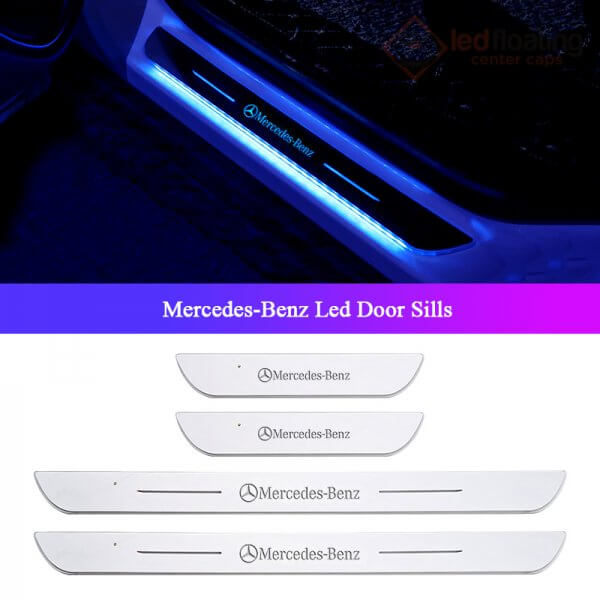 Mercedes Acrylic Moving LED Door Sill