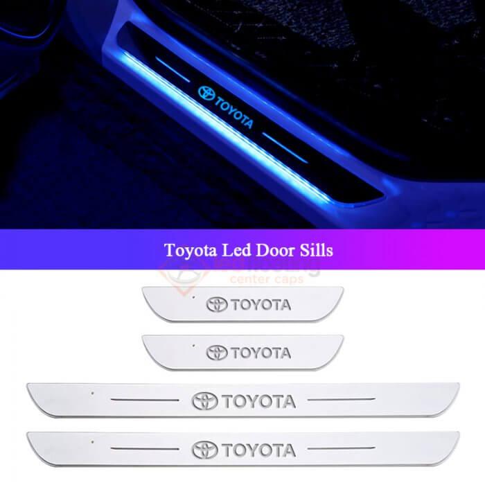 Toyota Illuminated Door Sills