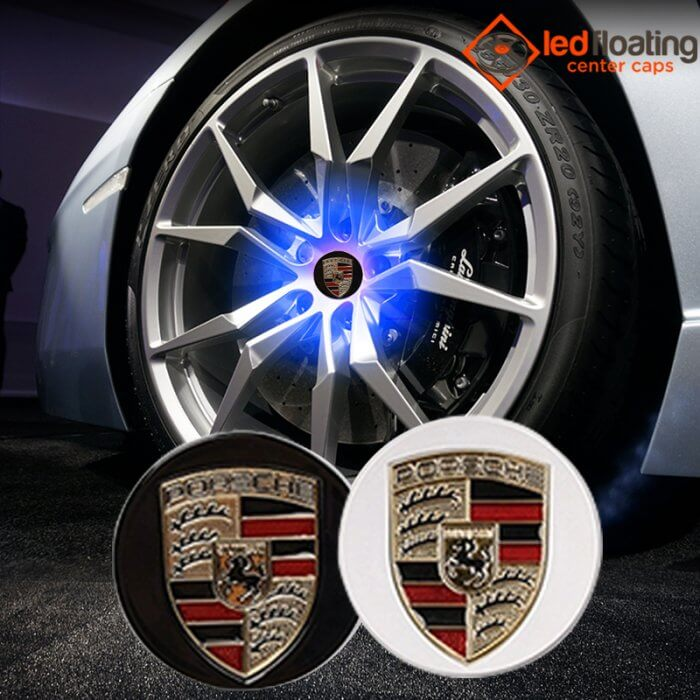 Porsche Floating Center Caps 65mm