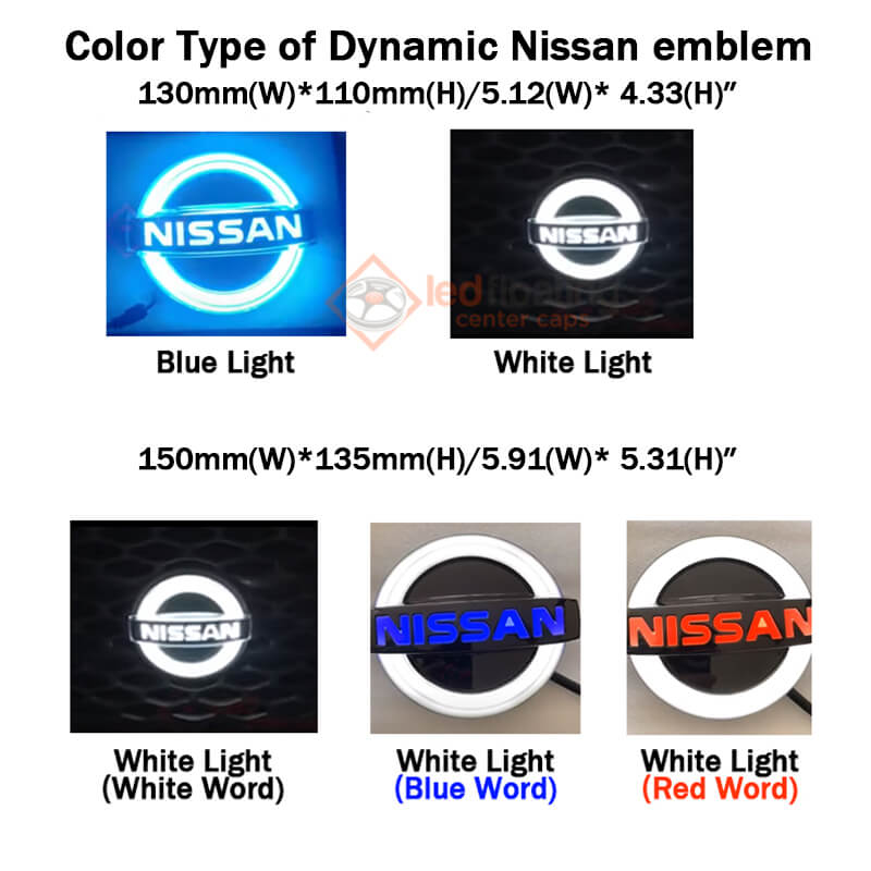 Light up Nissan Emblem