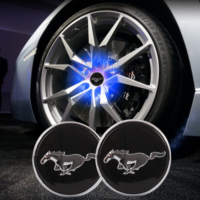 Ford Mustang Logo Floating Center Caps