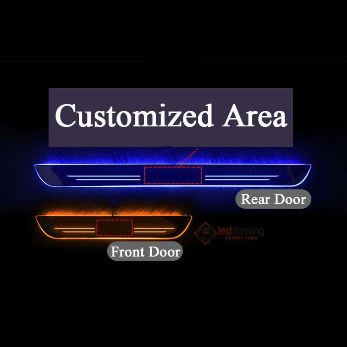sill size 2 Honda LED Door Sill