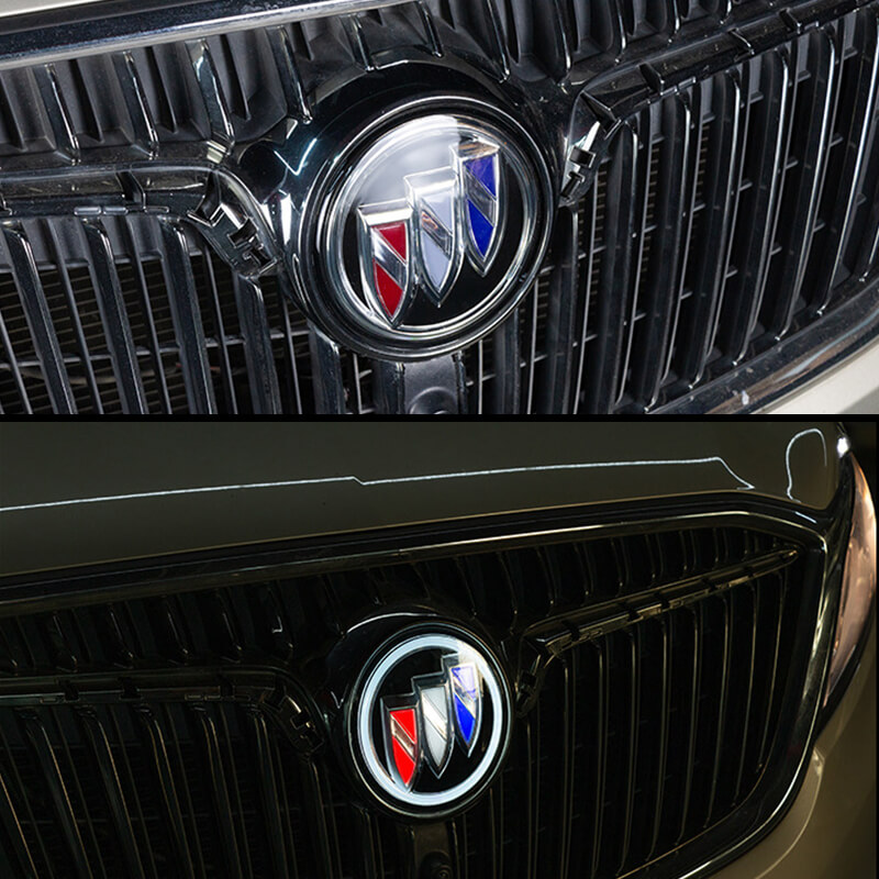 light up buick emblem
