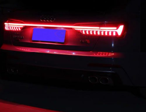 How to Install Audi tail light Animation 2021