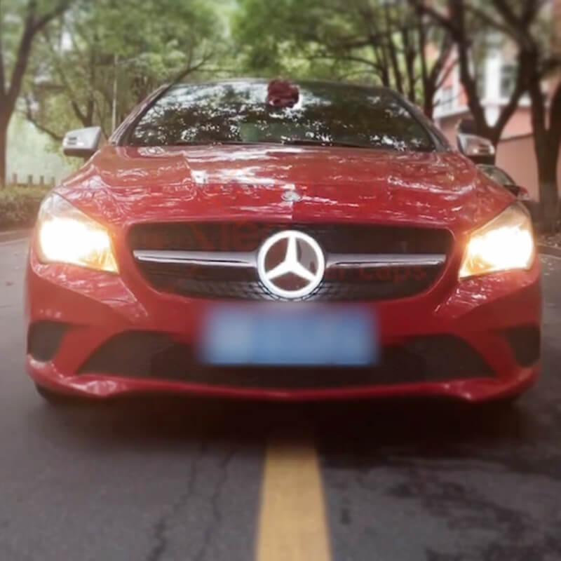 Dynamic Mercedes Emblem Light(Four Animations)