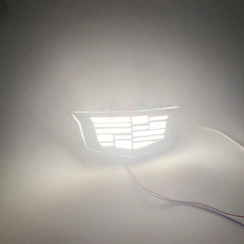 Dynamic Cadillac Emblem Light - Light up with Animation