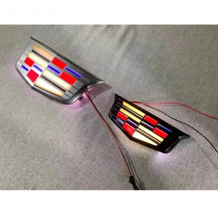 Cadillac Emblem Light for ATS ( No Animations)