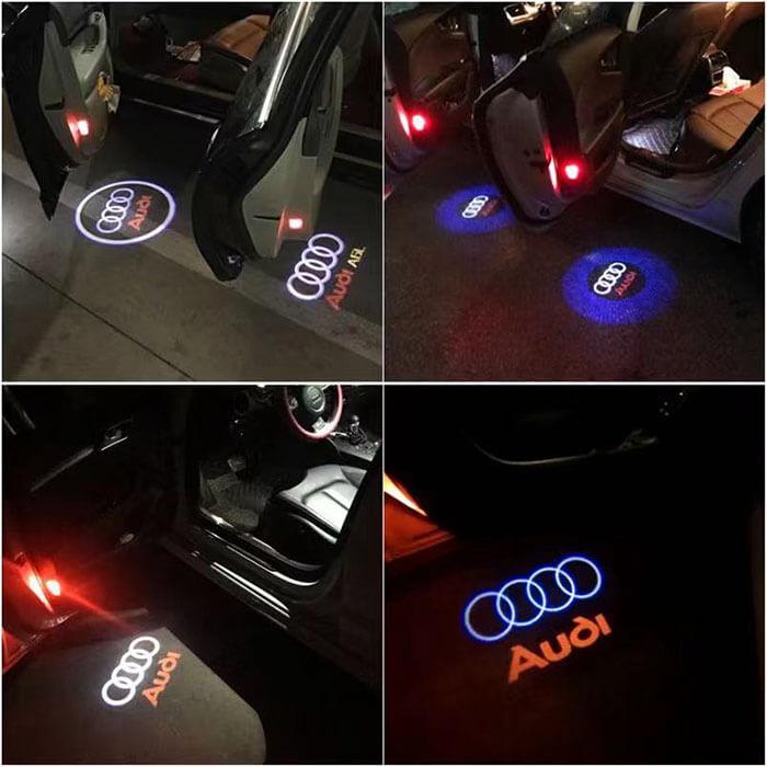 Audi Door Logo Lights