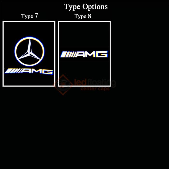 test4 Mercedes Led Logo Projector(2Pcs)
