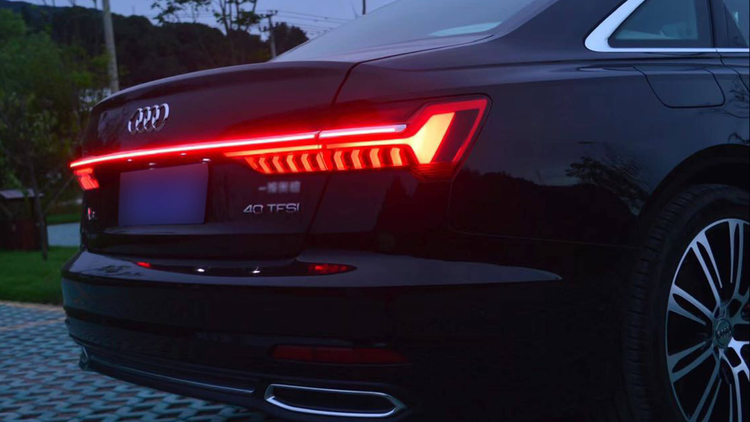 111 How to install Animation Audi Tail Light