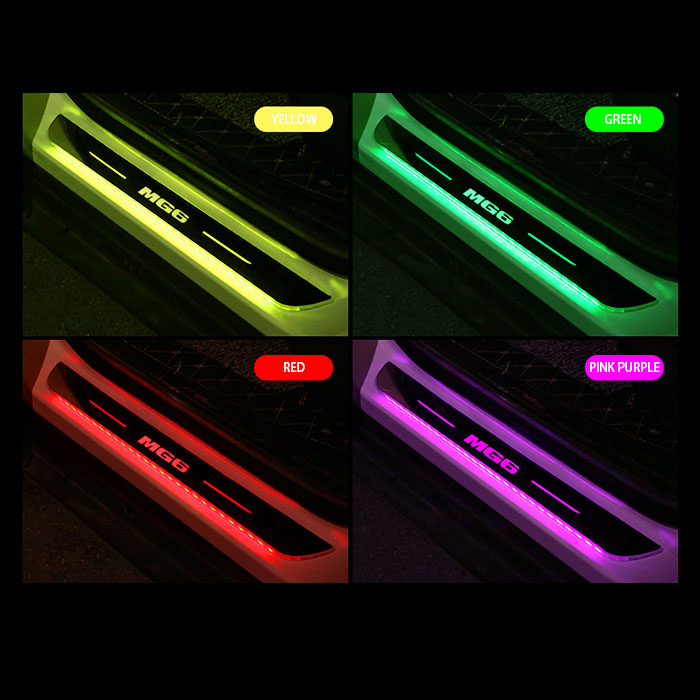 MG Cars Puddle Lights