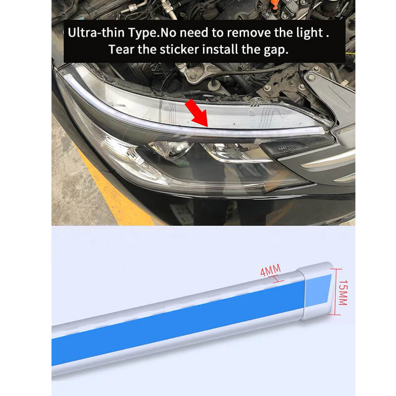 Dynamic LED Strips Suitable for All Cars