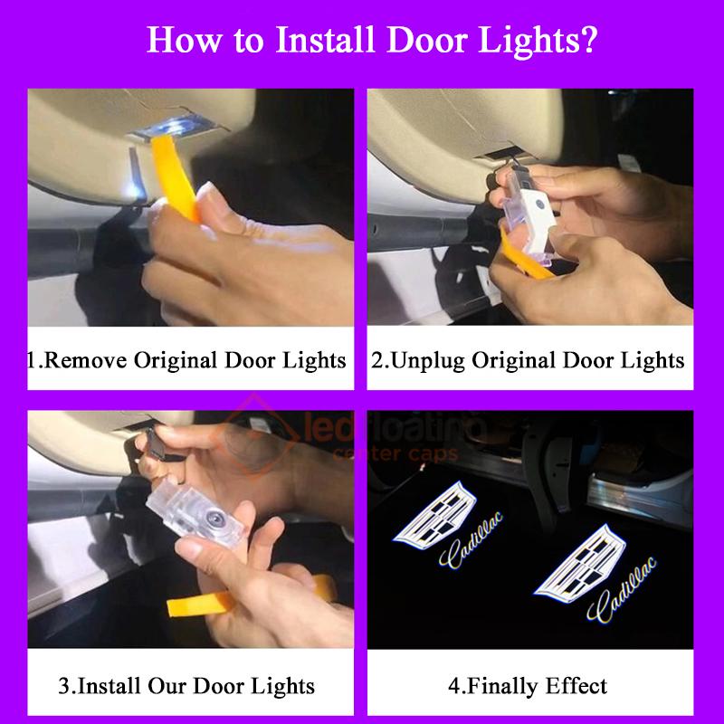 Cadillac Door Light
