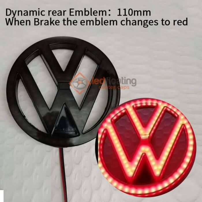 Dynamic VW Rear Emblem Light