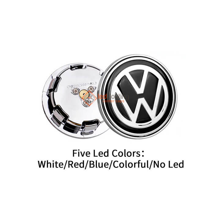 VW Dynamic Center Caps for Volkswagen ID.4
