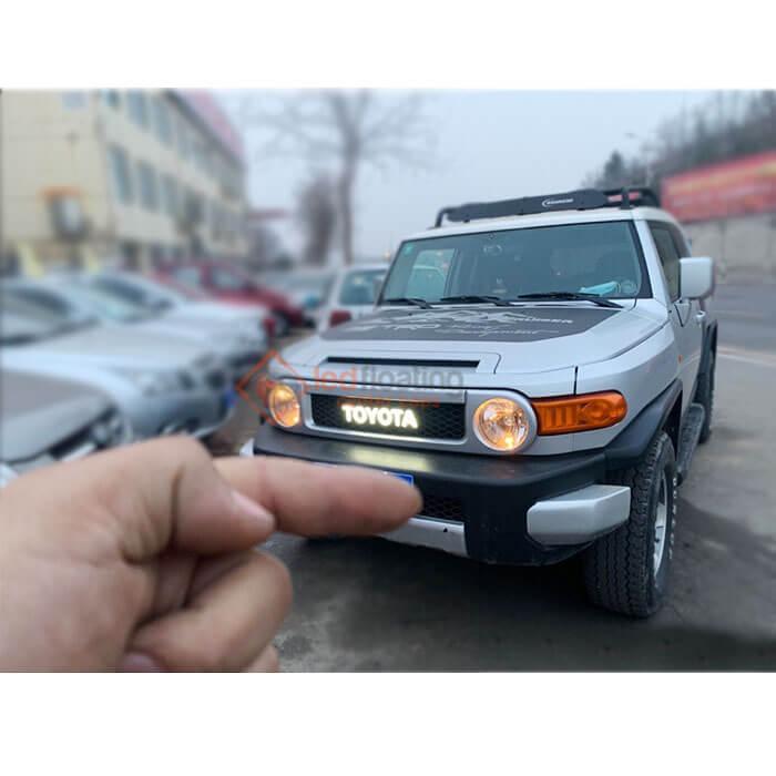 Led Toyota Letters Emblem Badge