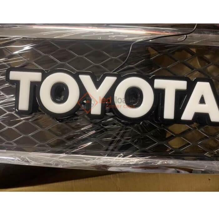 Led Toyota Badge Letters Light