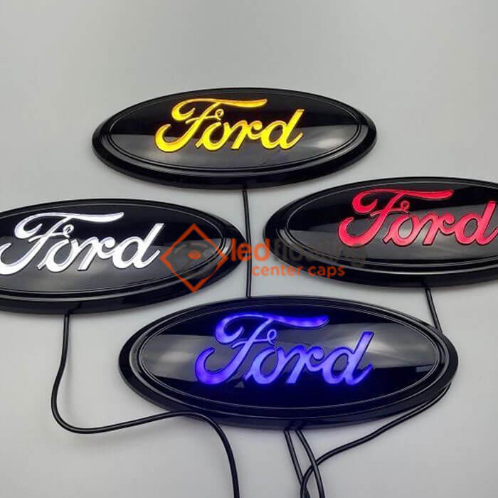 ford led emblem